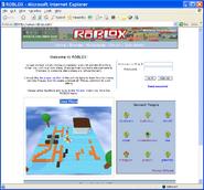 ROBLOX Alpha test