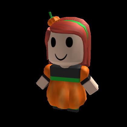 BLOXikin 15 Pumpkin Girl ROBLOXian