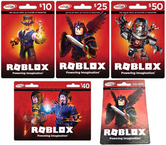 Can You Use A Walmart Card For Roblox Robux Roblox Card Roblox Wikia Fandom