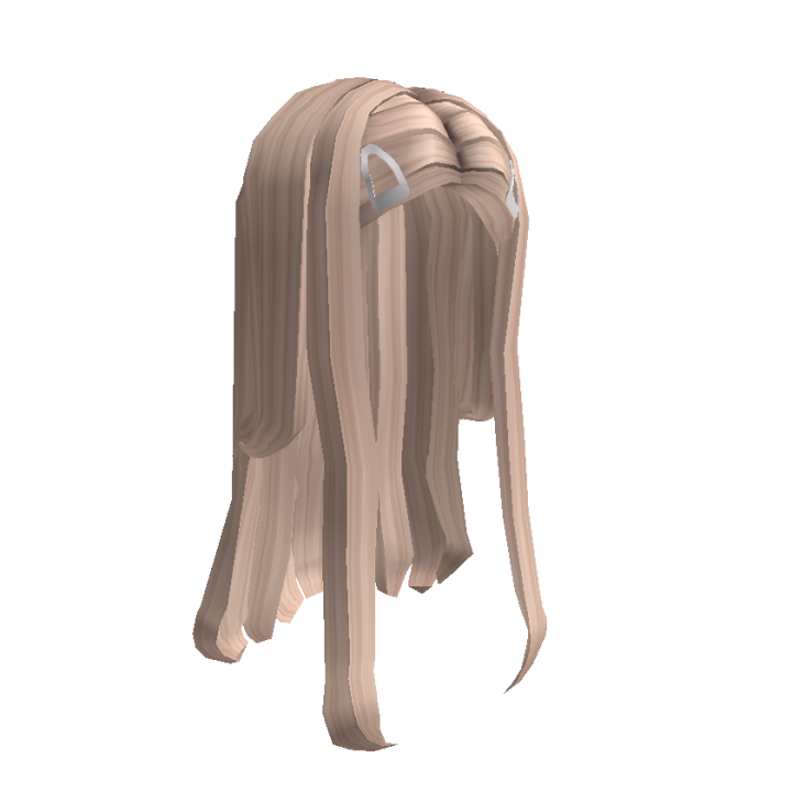 Long Blonde Hair with Clips Roblox Wiki Fandom