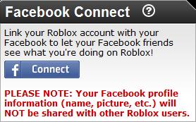 Facebook Connection Set-Up Process