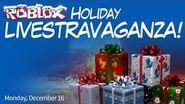 Holiday LIVESTRAVAGANZA 1! December 16 @ 3 p.m