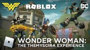 DC's Wonder Woman The Themyscira Experience Roblox Launch Trailer