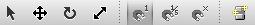 A screenshot of the part manipulation toolbar.