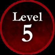 Survive the Killer! Level 5 Badge.png