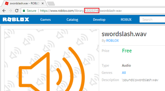 Id Catalog For Roblox Audio Roblox Wikia Fandom