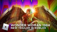Wonder Woman 1984's New Trailer in Roblox