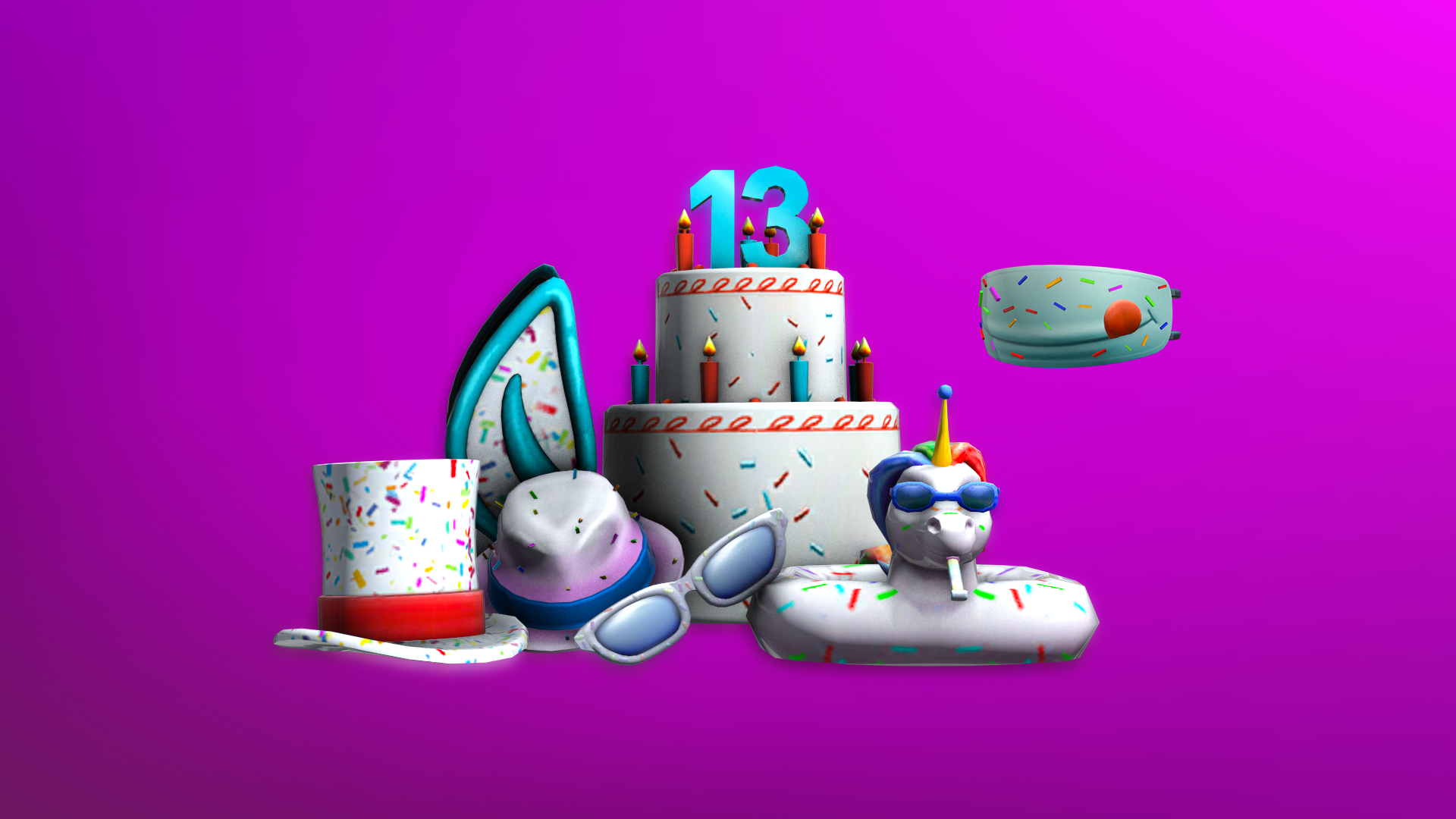 13th Birthday Cake Mask Contest