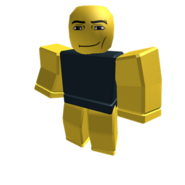 Yellow Roundy Manface Colorbot