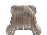 Catalog:Aesthetic Short Spacebun Hair Blonde