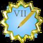Editor Badge Grade VII