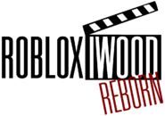 ROBLOXiwood Reborn Logo Full (Black)