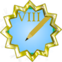Editor Badge Grade VIII