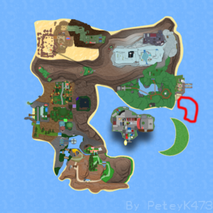 Route 17 on Roria Town Map.