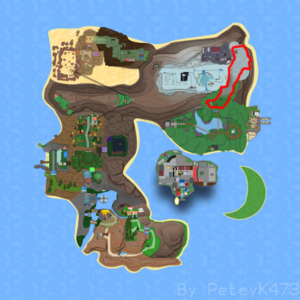 Route 16 on Roria Town Map.