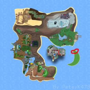 Crescent Town on Roria Town Map.