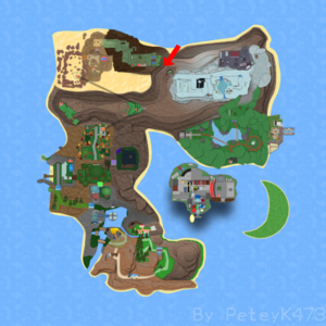 Route 13 on Roria Town Map.