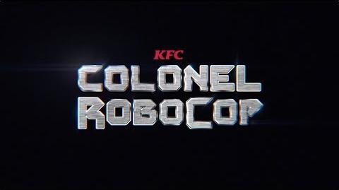 KFC Colonel RoboCop is here Colonel Robocop