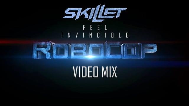 Skillet- Feel Invincible (RoboCop Video Mix)