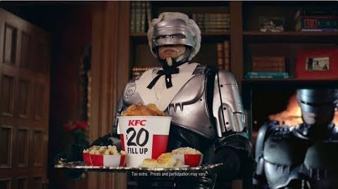 KFC Countdown Colonel RoboCop