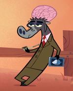 BrainyYakBrownSuit