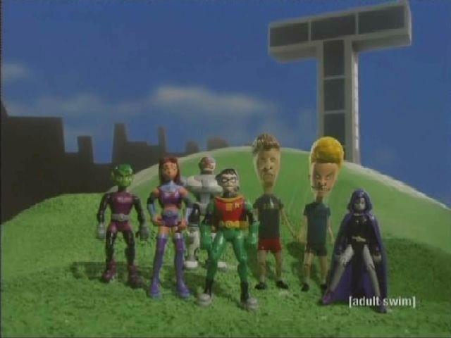Beavis and Butt-head Join Teen Titans
