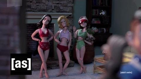 Baby Sitters Club or Die Robot Chicken Adult Swim