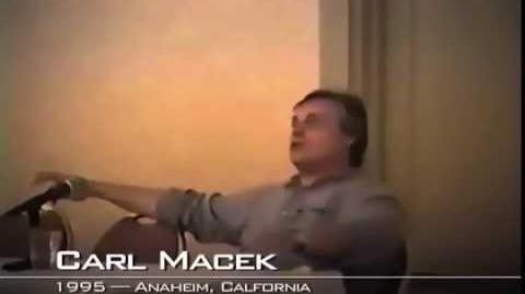 Carl Macek on crowdfunding (1995)