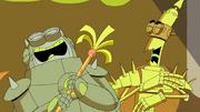 Thrasher and Blastus Laughing.png