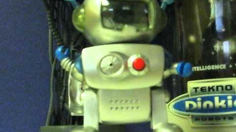 EBay Item Demo - Tekno Dinkies Fubo'Kie Dad-Bot Interactive Robot