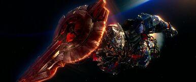 Optimus Prime Leaving Earth.jpg