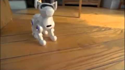 Tekno the Robotic Puppy White)
