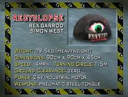Recyclopse stats