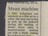 Robot Wars: The Third Wars/Controversy