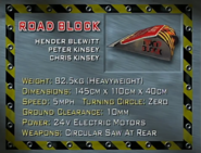 Roadblock s1 stats