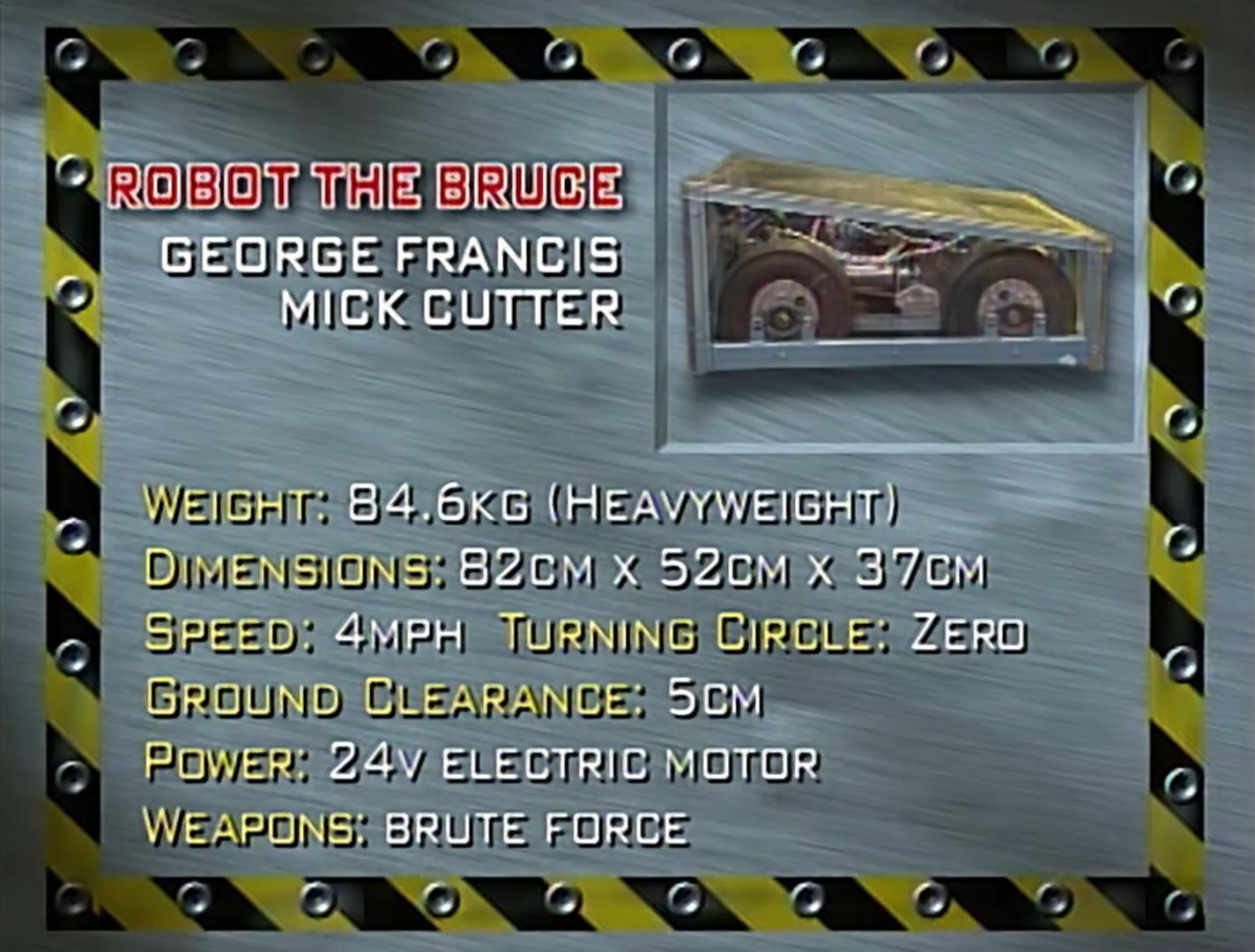 Robot The Bruce