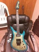 Hard rock guitar avenger