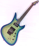 Schecter A-6 SLS FR-S guitar of the ulitmate form hard rock