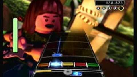 """""""Short and Sweet"""" Spinal Tap - LEGO Rock Band Expert Guitar"""