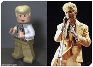 Legorockband David bowie
