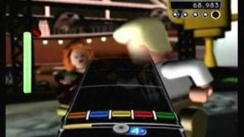 """Lets Dance"" David Bowie - LEGO Rock Band Expert Guitar"