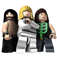 Spinal Tap Lego Rock Band