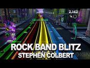 Rock Band Blitz- Stephen Colbert Rocks