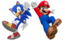 Super mario and sonic the hedgehog by banjo2015-d9r77hm.png