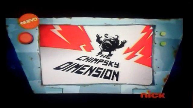 スペースサル Rocket Monkeys - ザチンプスキーディメンション La dimension Chimpsky