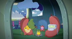 Rocket Monkeys - Wally, YAY-OK and Inky Party