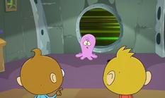 Rocket Monkeys Inky the Space Octopus - Monkey Hearts