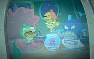 Rocket Monkeys - Gus, Wally, YAY-OK and Inky Party 3