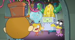 Rocket Monkeys - Gus, Wally, YAY-OK and Inky Party 1