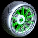 Revenant wheel icon forest green